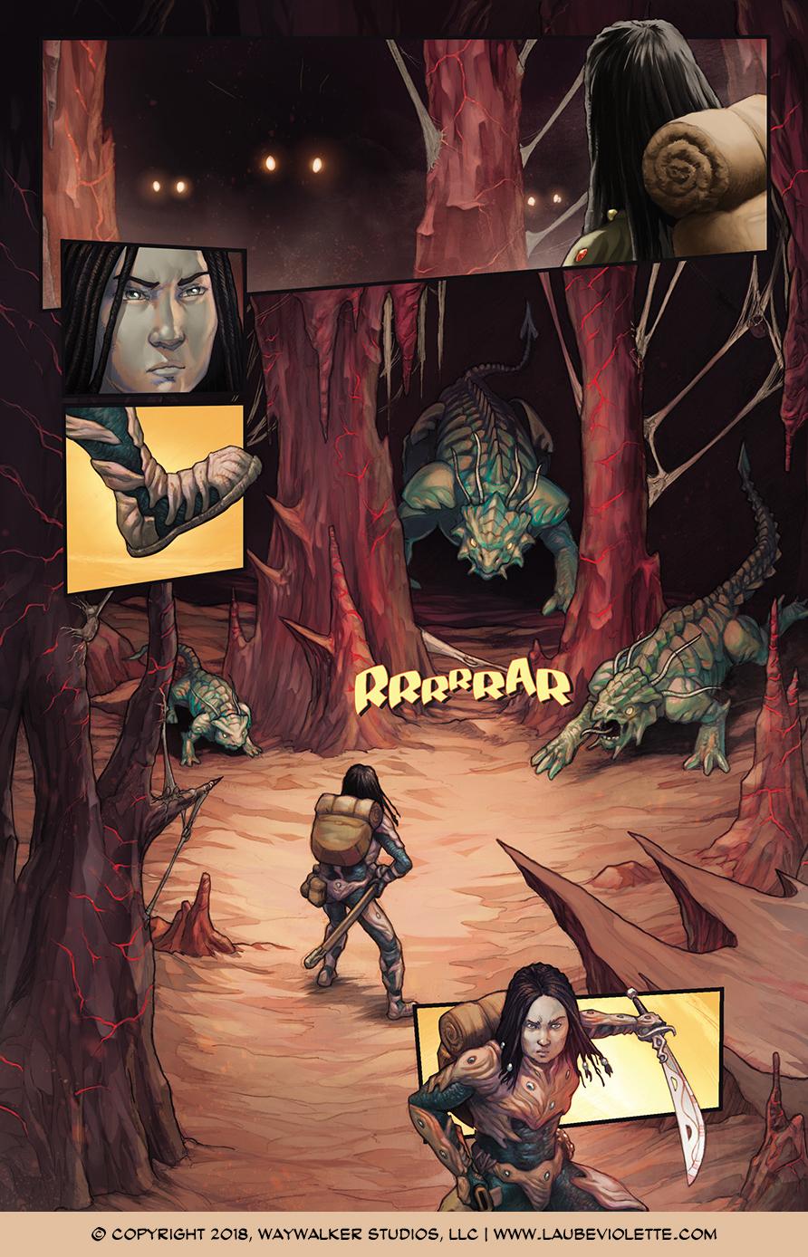 L'Aube Violette: L'Exil – Tome 1, Page 2