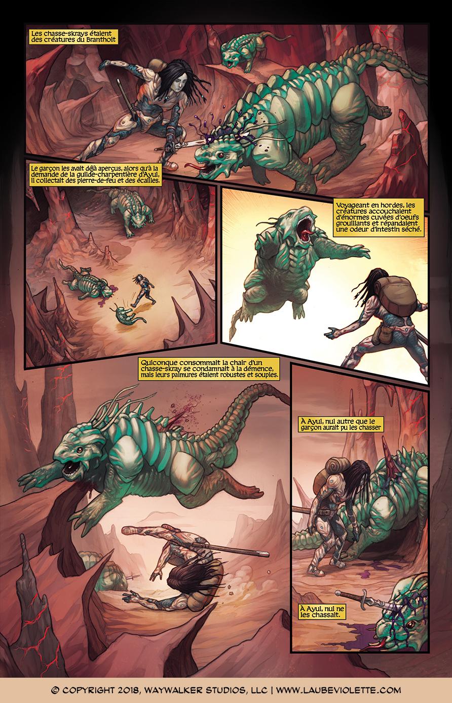 L'Aube Violette: L'Exil – Tome 1, Page 3