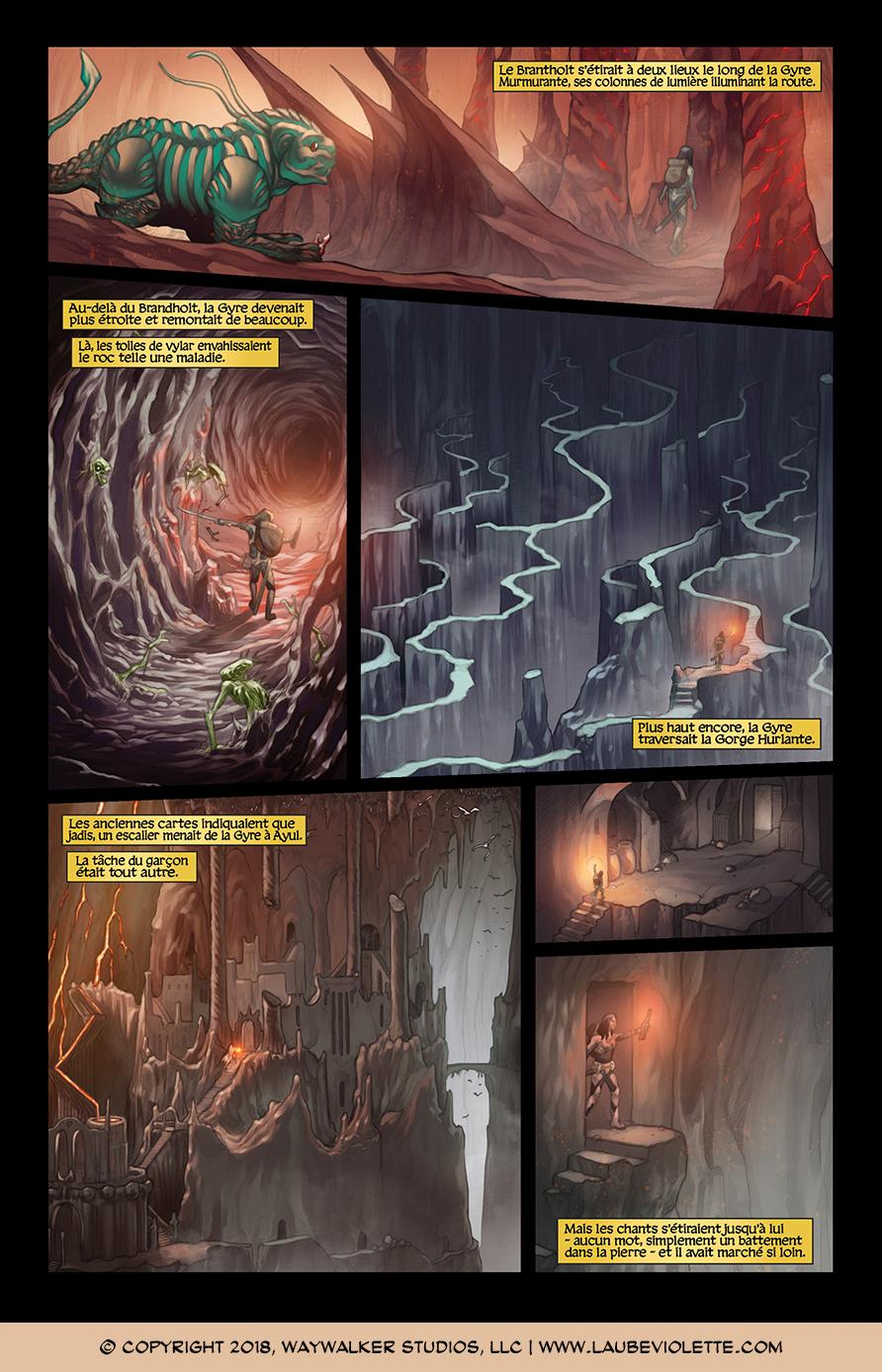 L'Aube Violette: L'Exil – Tome 1, Page 5