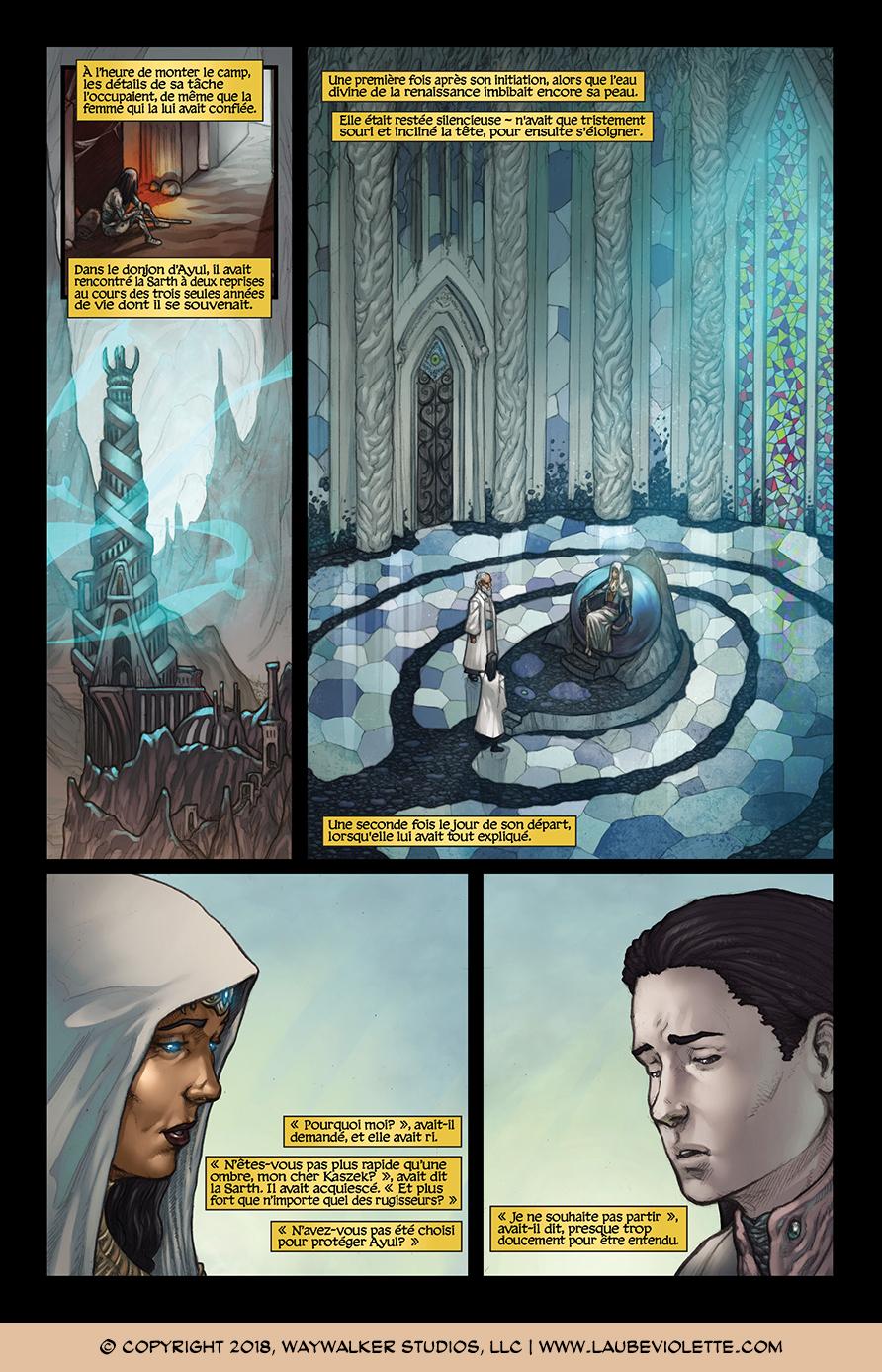 L'Aube Violette: L'Exil – Tome 1, Page 7