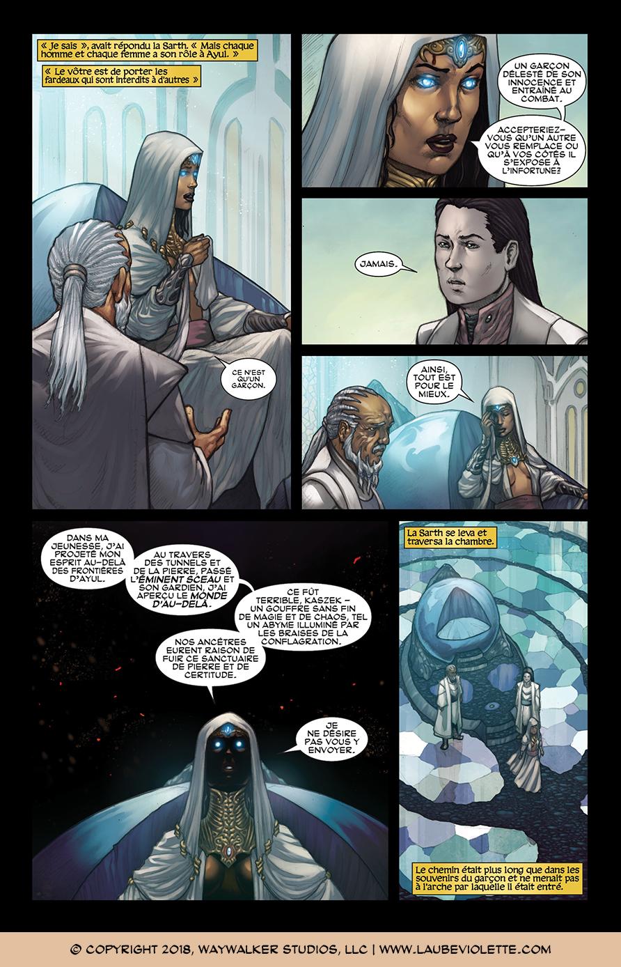 L'Aube Violette: L'Exil – Tome 1, Page 8