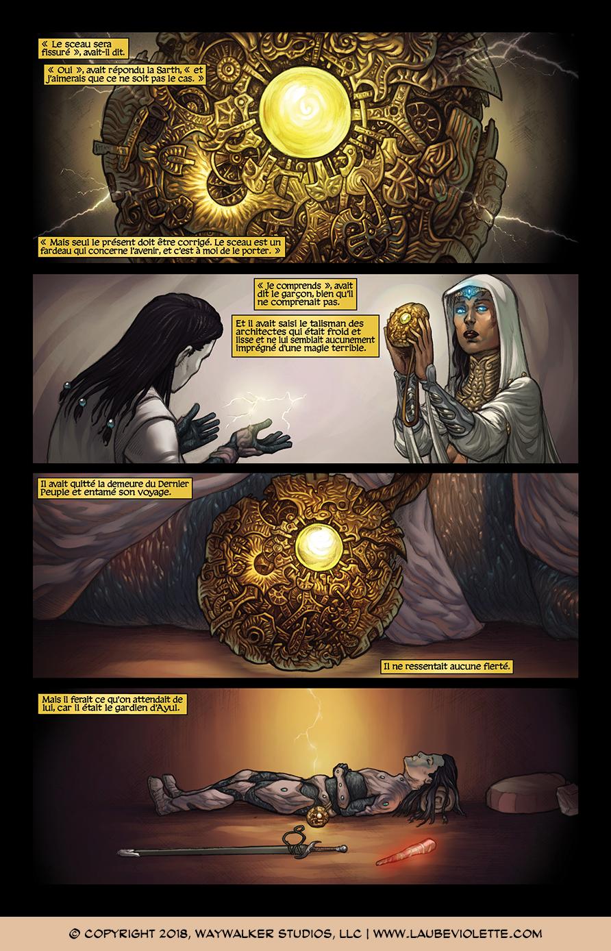 L'Aube Violette: L'Exil – Tome 1, Page 10