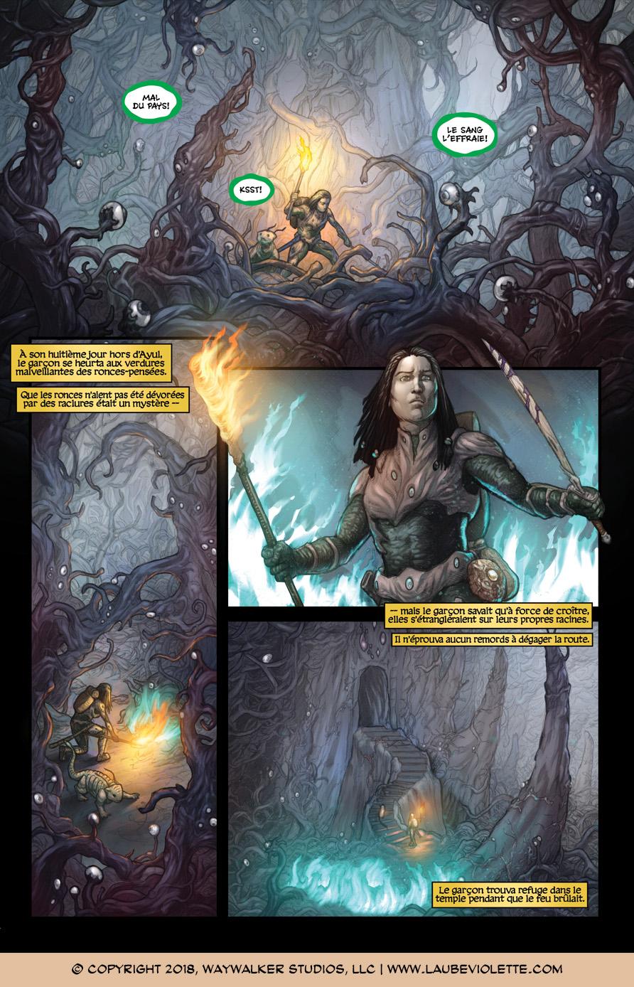 L'Aube Violette: L'Exil – Tome 2, Page 1