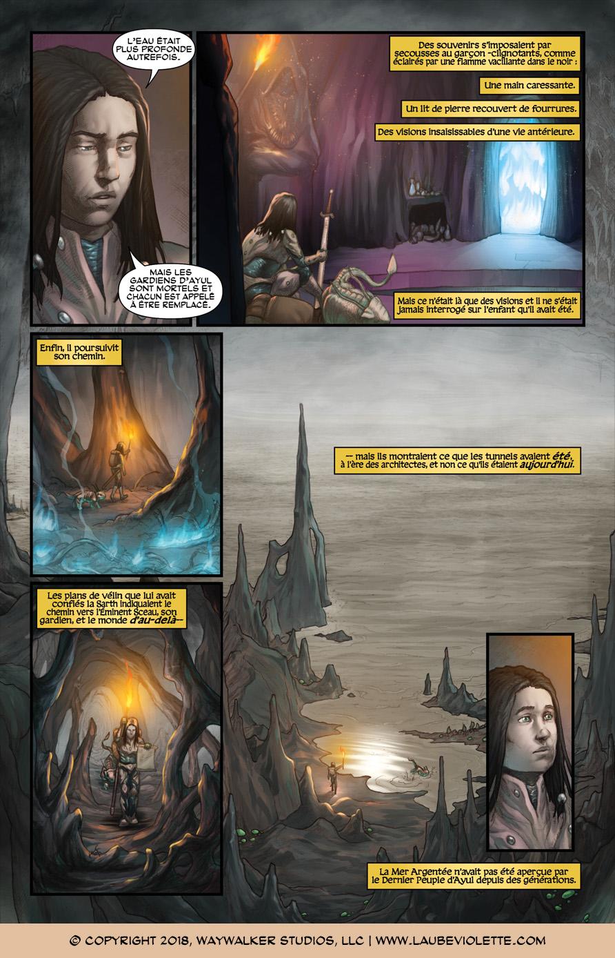 L'Aube Violette: L'Exil – Tome 2, Page 4