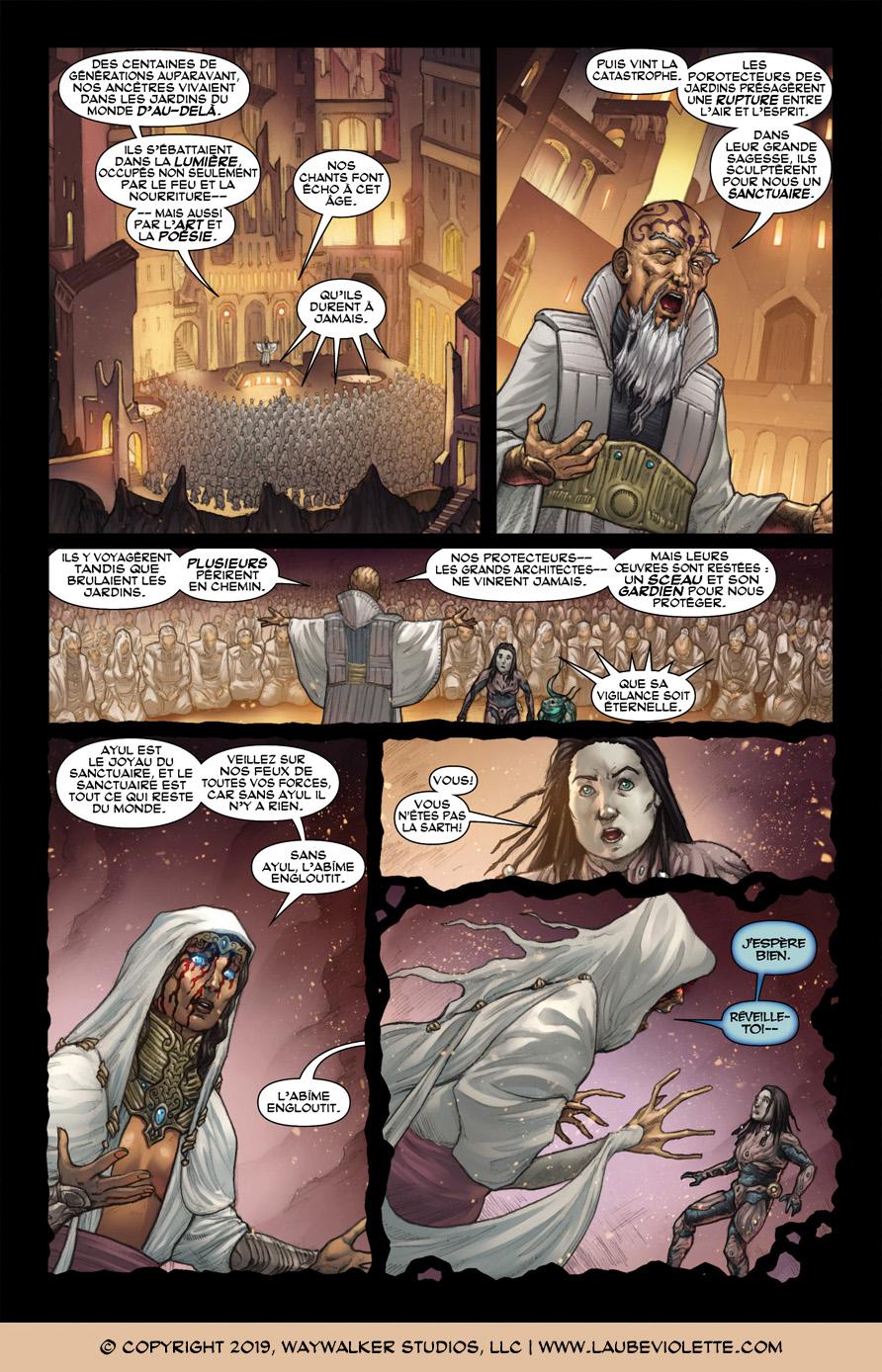 L'Aube Violette: L'Exil – Tome 3, Page 1