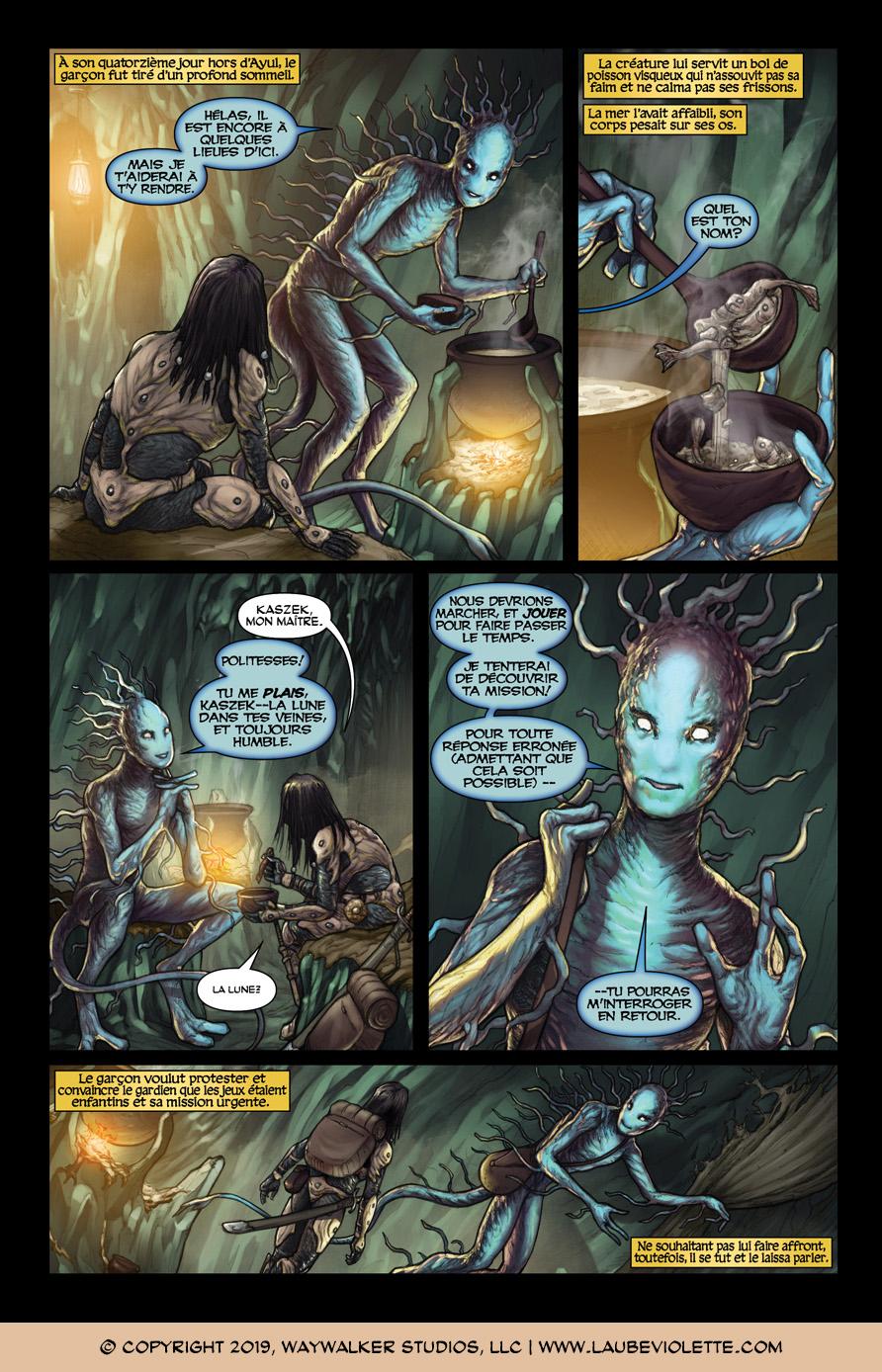 L'Aube Violette: L'Exil – Tome 3, Page 3