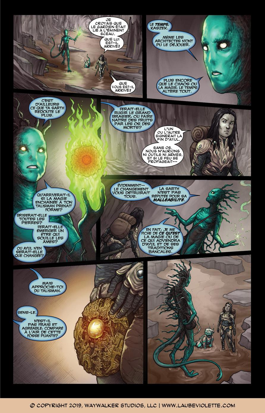 L'Aube Violette: L'Exil – Tome 3, Page 7