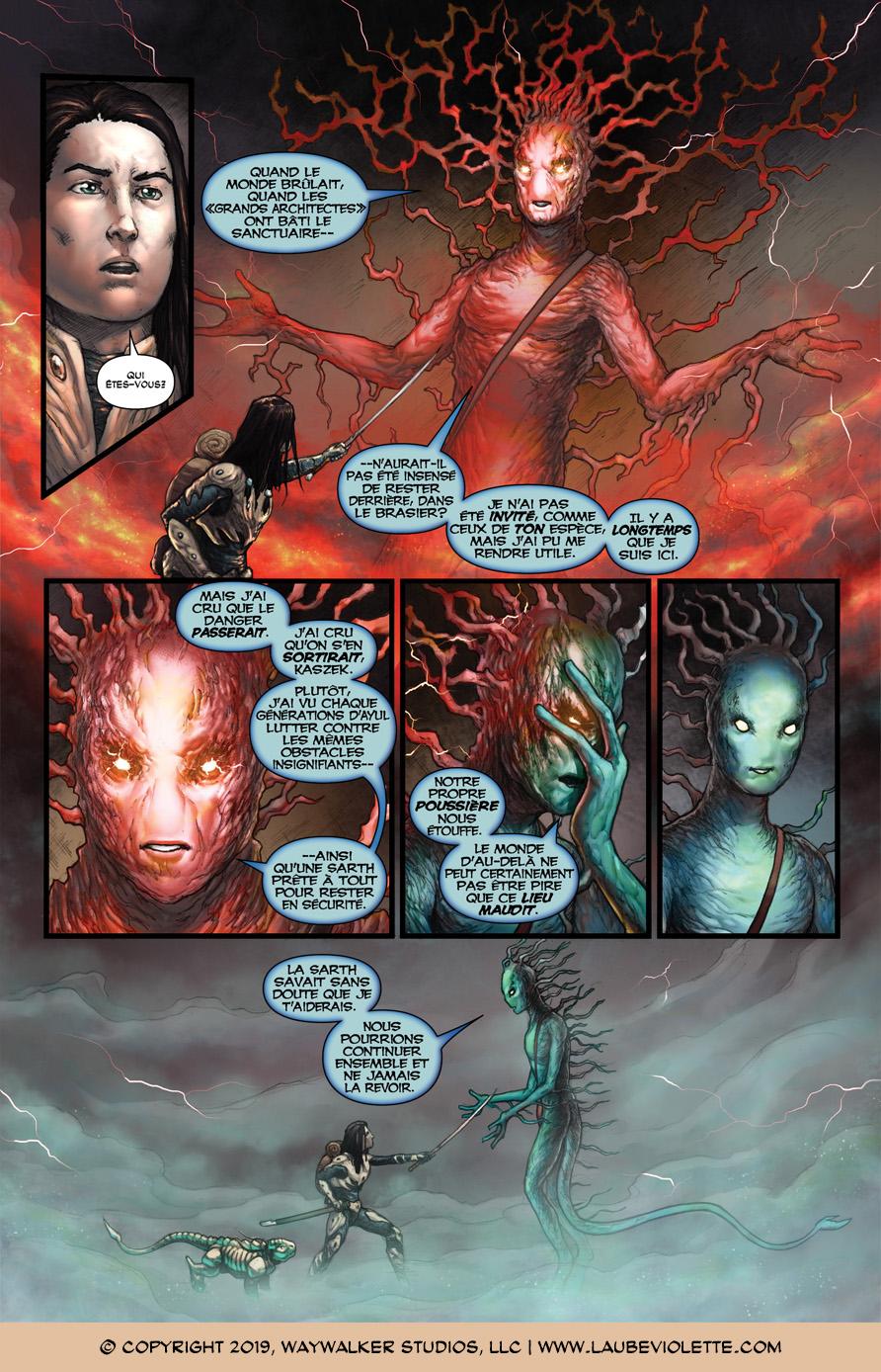 L'Aube Violette: L'Exil – Tome 3, Page 9