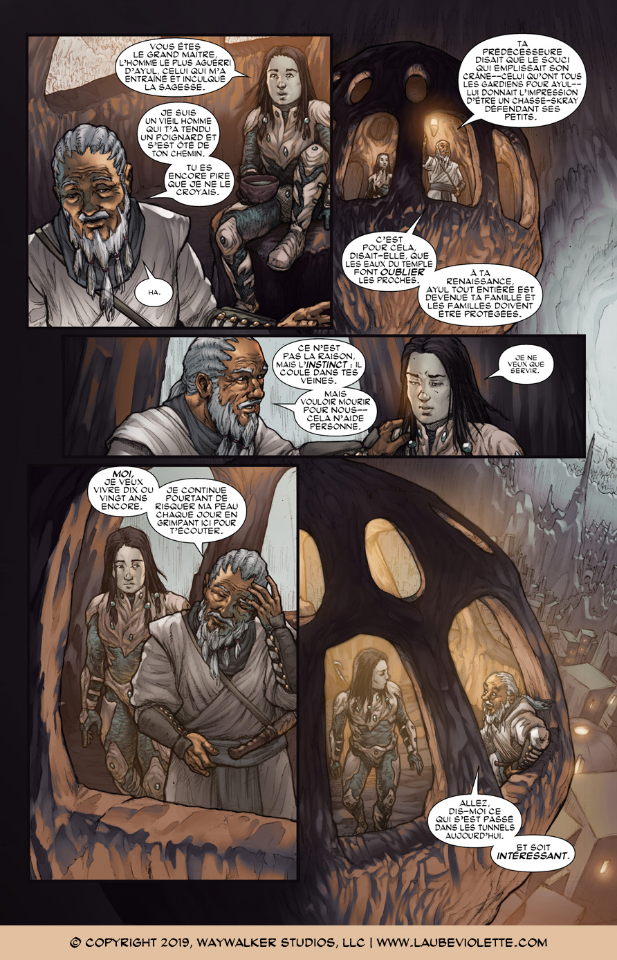 L'Aube Violette: L'Exil – Tome 4, Page 4