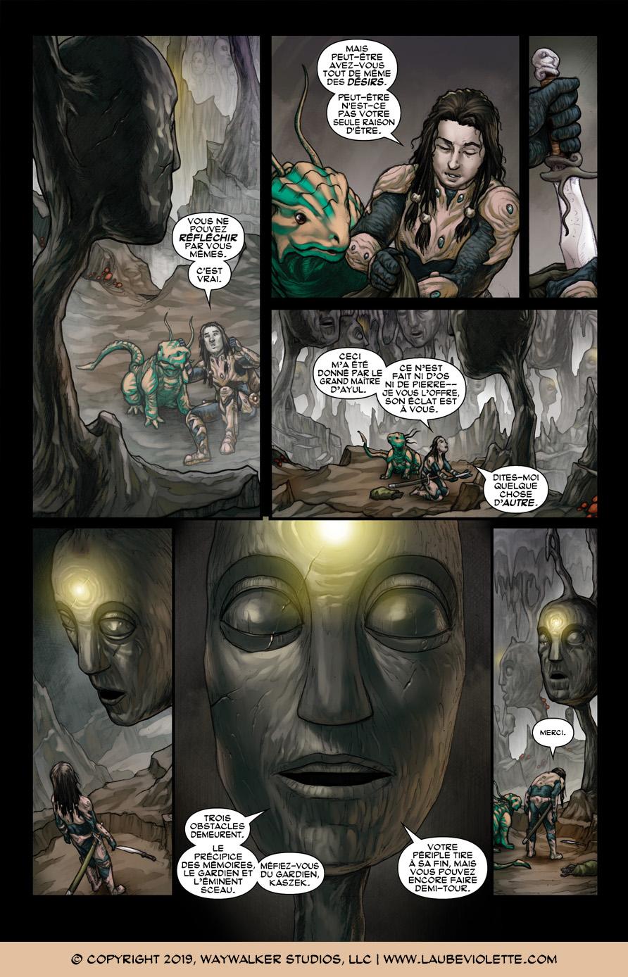 L'Aube Violette: L'Exil – Tome 5, Page 2