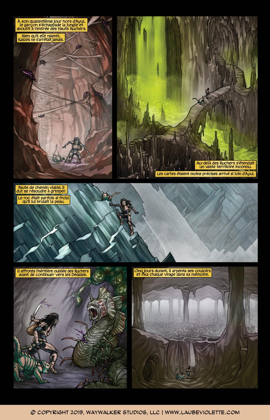L'Aube Violette: L'Exil – Tome 5, Page 4