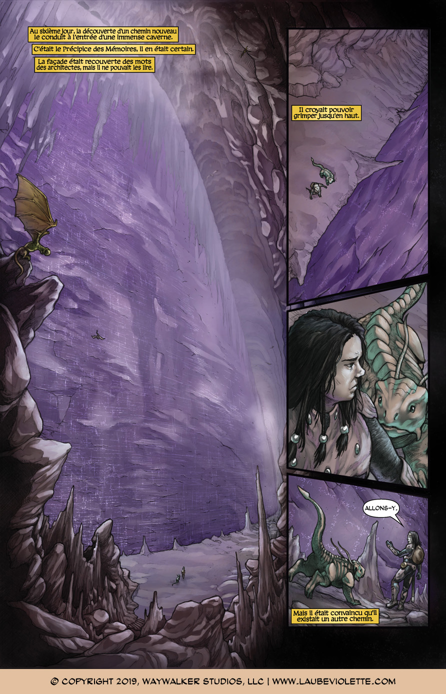 L'Aube Violette: L'Exil – Tome 5, Page 5