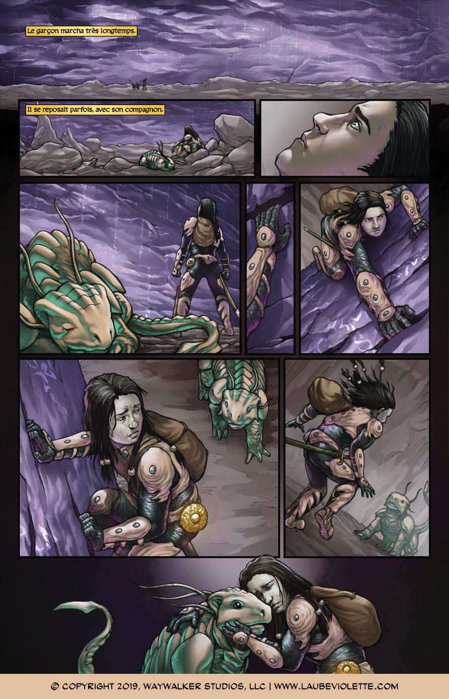 L'Aube Violette: L'Exil – Tome 5, Page 8