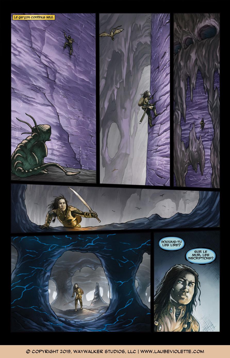 L'Aube Violette: L'Exil – Tome 5, Page 9