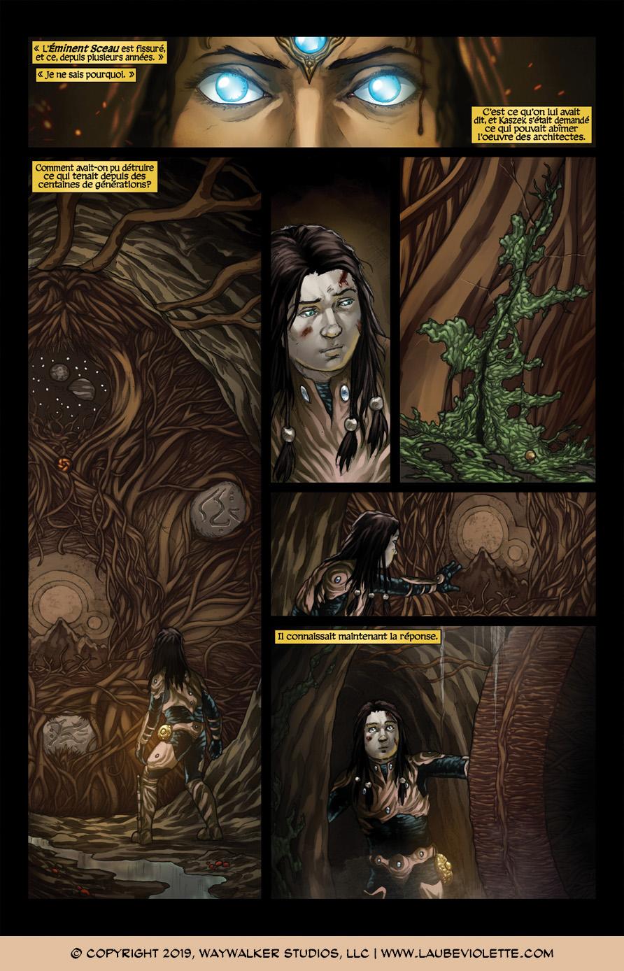 L'Aube Violette: L'Exil – Tome 7, Page 1