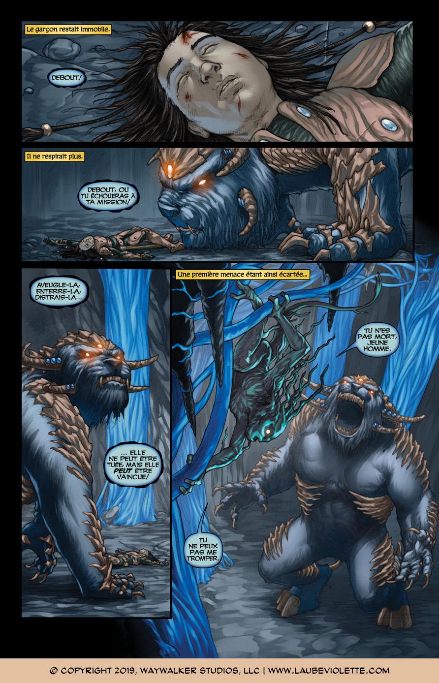 L'Aube Violette: L'Exil – Tome 6, Page 6