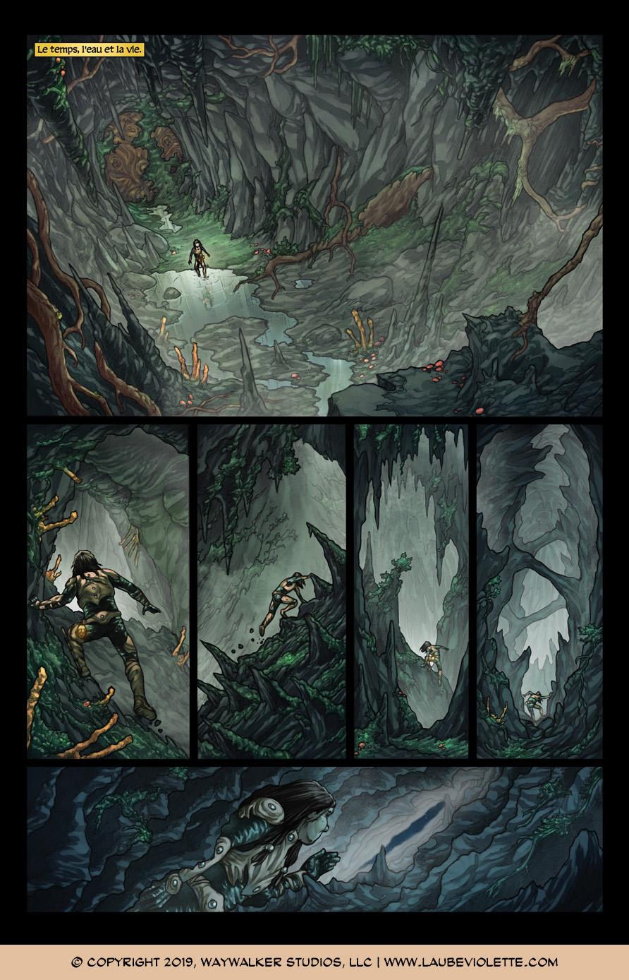 L'Aube Violette: L'Exil – Tome 7, Page 2