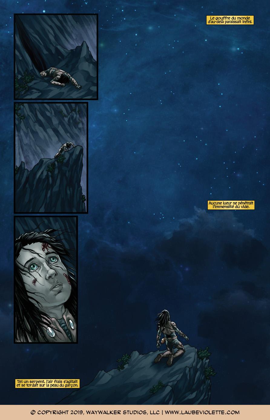 L'Aube Violette: L'Exil – Tome 7, Page 3