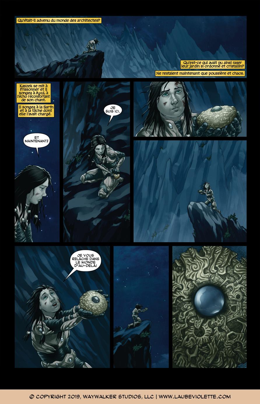 L'Aube Violette: L'Exil – Tome 7, Page 4