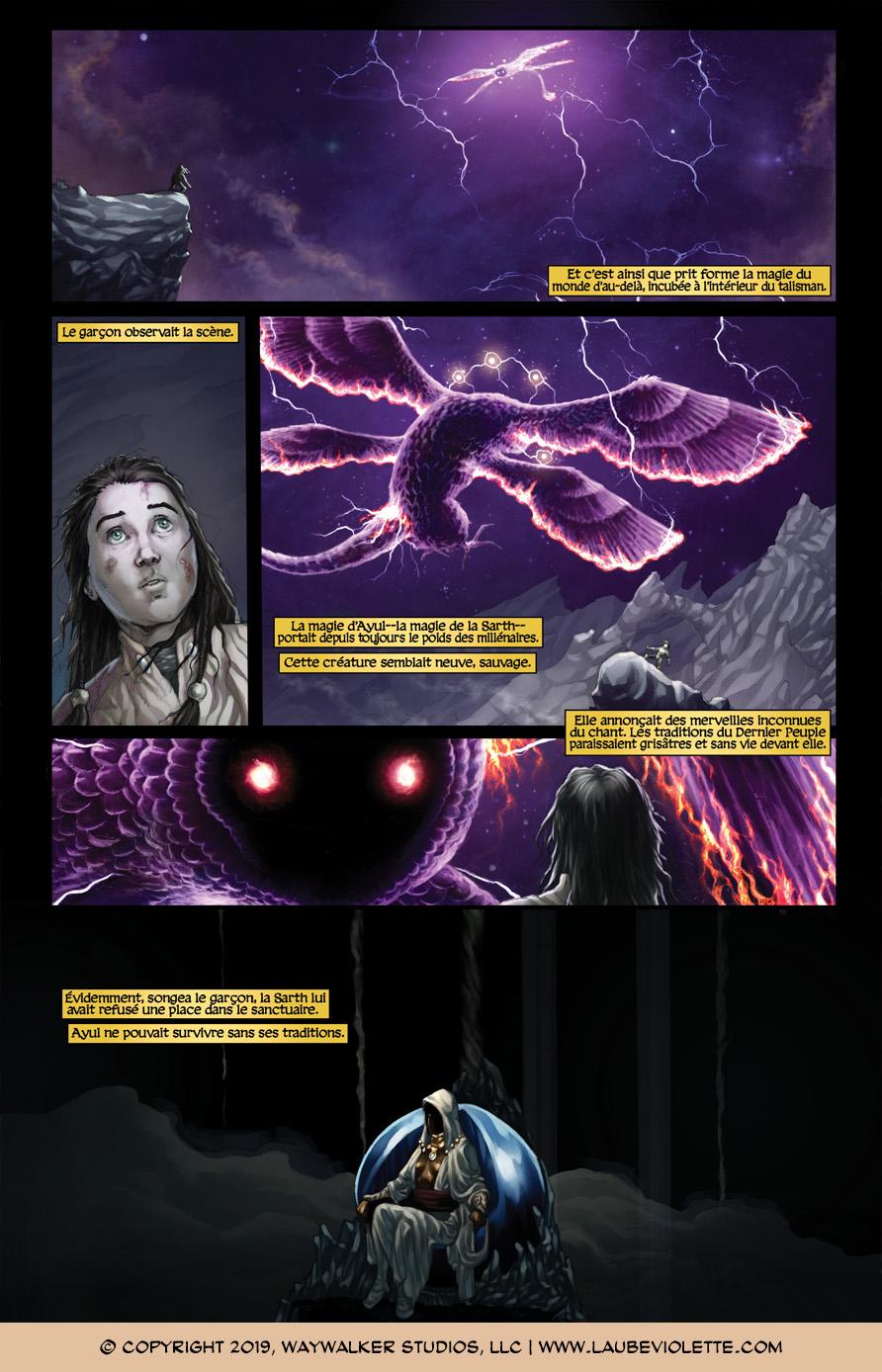 L'Aube Violette: L'Exil – Tome 7, Page 8