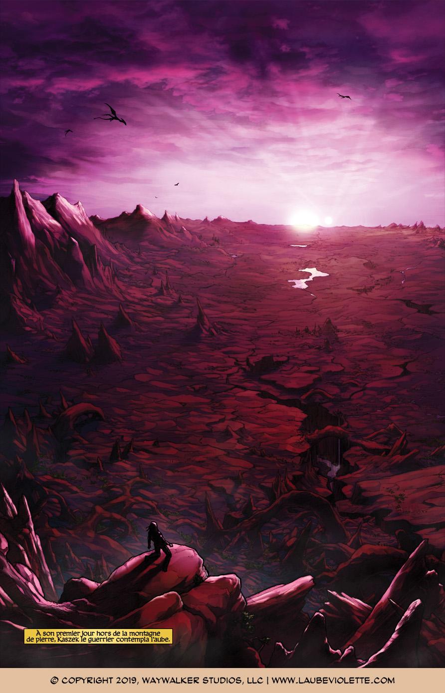 L'Aube Violette: L'Exil – Tome 7, Page 12
