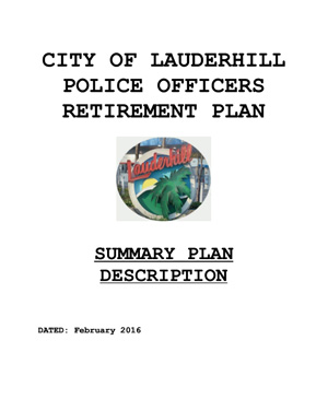 Lauderhill Police Retirement Plan
