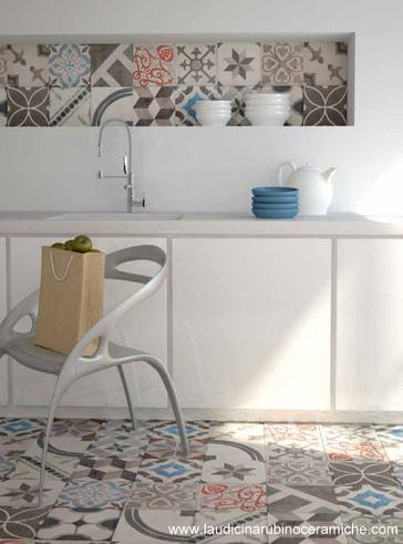 cementine piastrelle vintage  Laudicina  Rubino si occupa di Ceramiche per pavimenti e