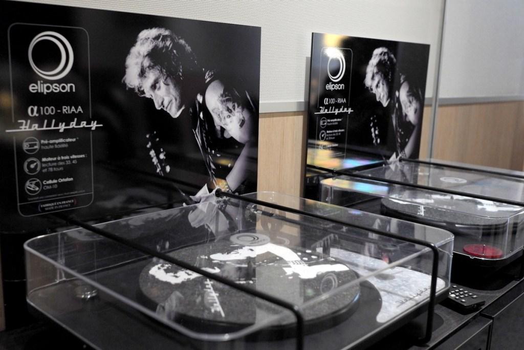 Elipson Alpha 100 RIAA Édition Spéciale Johnny Hallyday