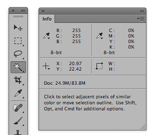 Photoshop-Info-Panel