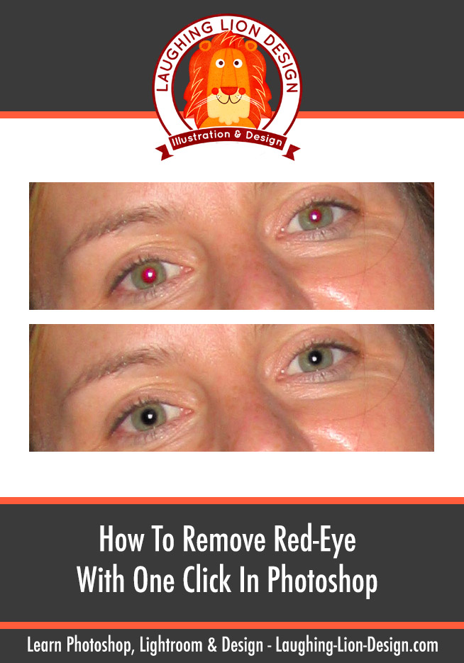 How To Remove Red-eye in Photoshop With One Click
