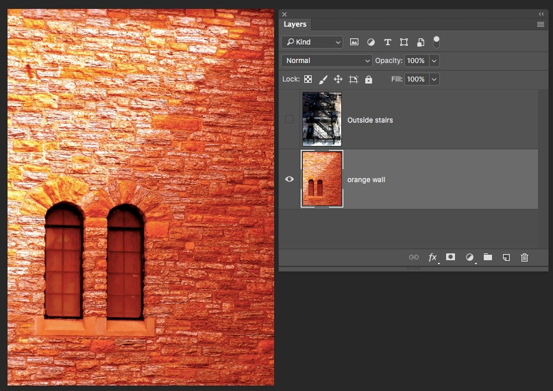 Bottom Layer - Photoshop Blending Modes