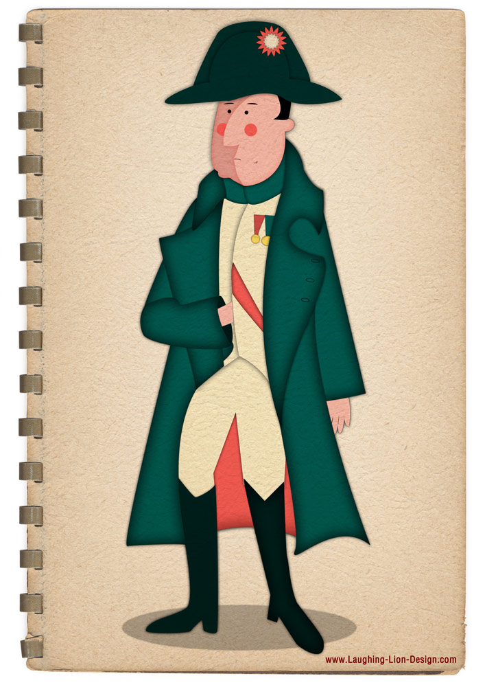 Napoleon Illustration by Jennifer Farley