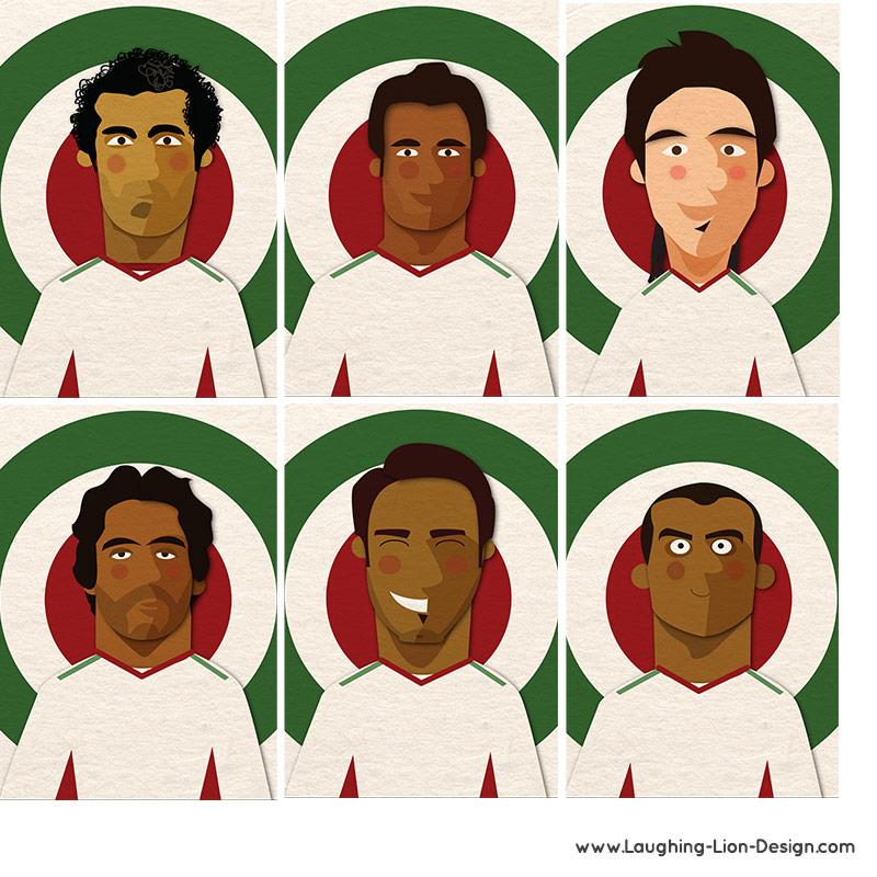 Iranian-Football-Team-Illustrated-by-Jennifer-Farley-2