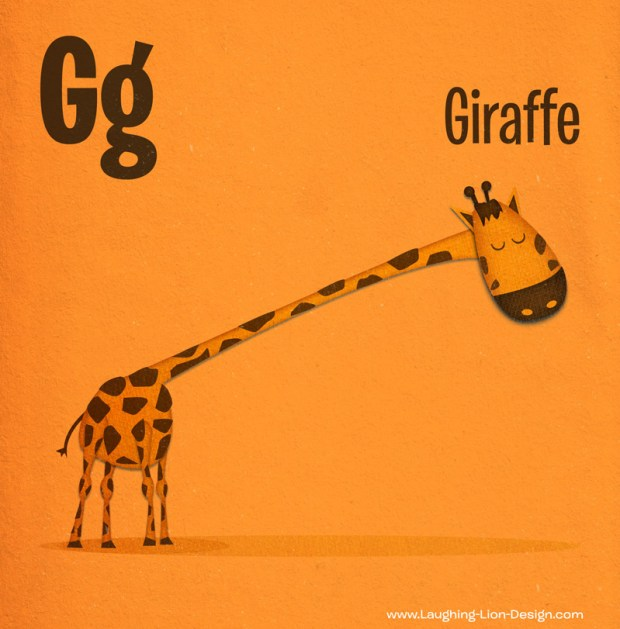 Jennifer-Farley-Animal-ABC-Giraffe
