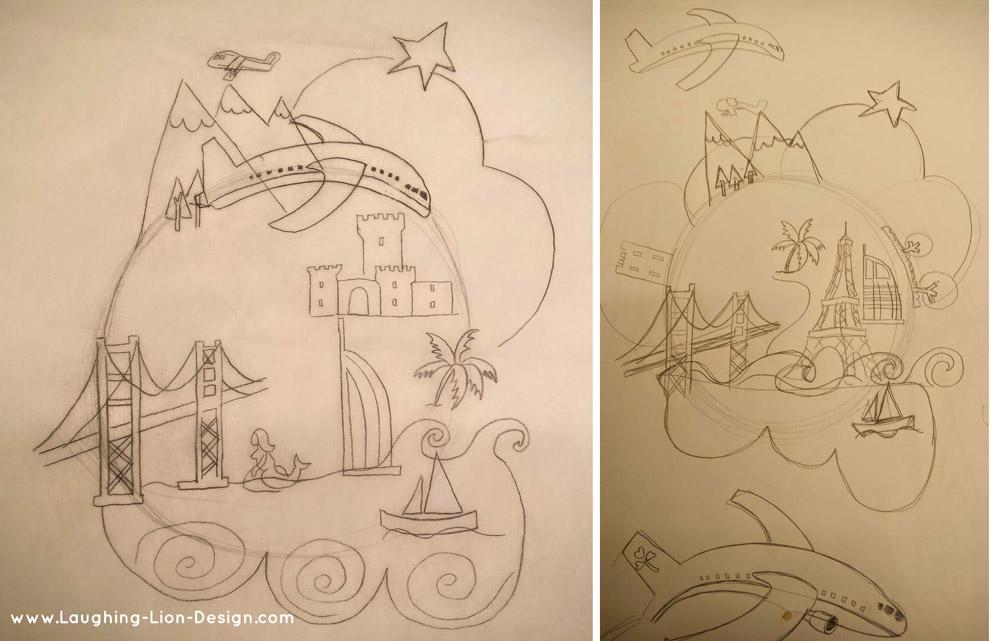 Cara-Magazine-Sketch-Aer-Lingus-Jennifer-Farley