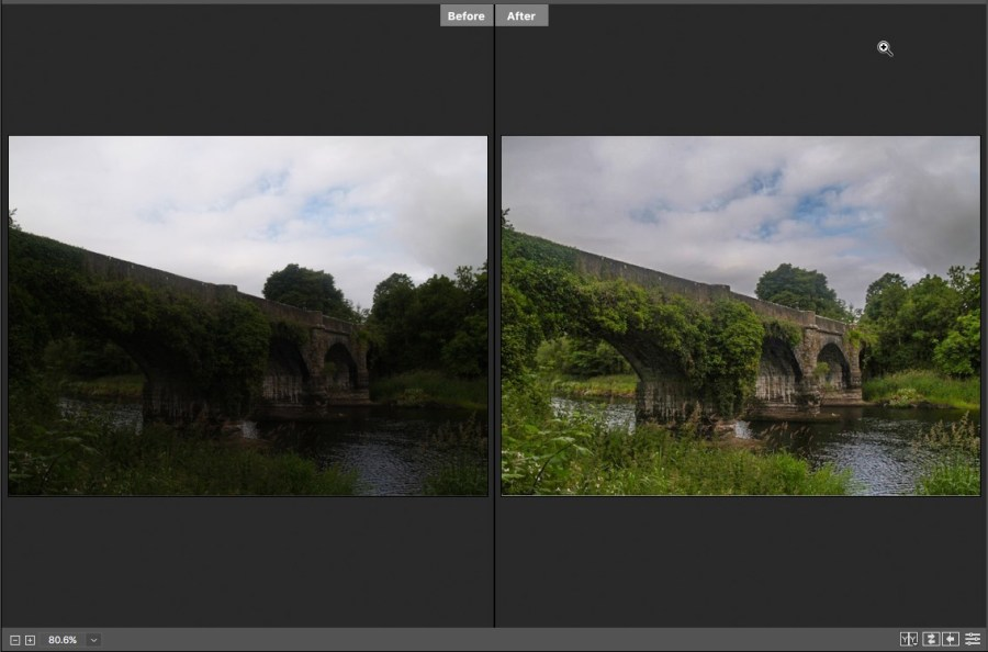 7 - Camera Raw Before And After