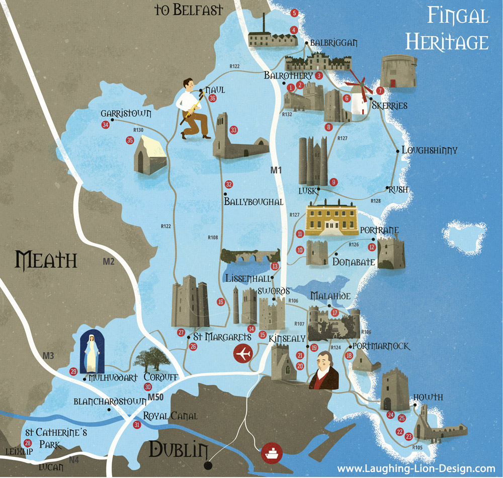 Fingal Heritage Map