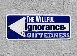 The Willful Ignorance of Giftedness