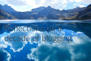 Reflections on a decade of blogging