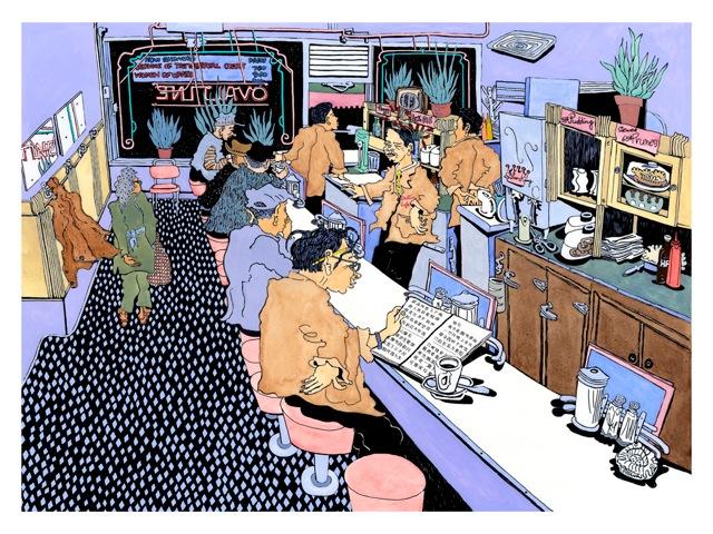 Ovaltine Cafe Interior