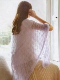 Lacy Shawl - Debbie Bliss Magazine Issue - 10 Spring Summ...