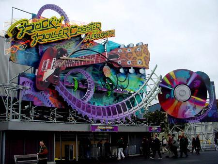 Fans Say Goodbye to Rock 'n' Roller Coaster avec Aerosmith at Walt Disney Studios Paris - LaughingPlace.com