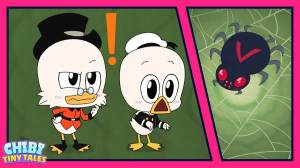"The first of three short films ""Chibi Tiny Tales"" ""DuckTales"" ahead of the Finale series in March"