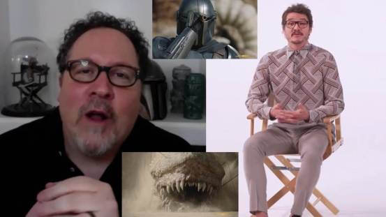 "Video: Jon Favreau and Pedro Pascal leave ""Behind the Scenes"" of ""Mandalorian"" as AFI Honorary Awards"