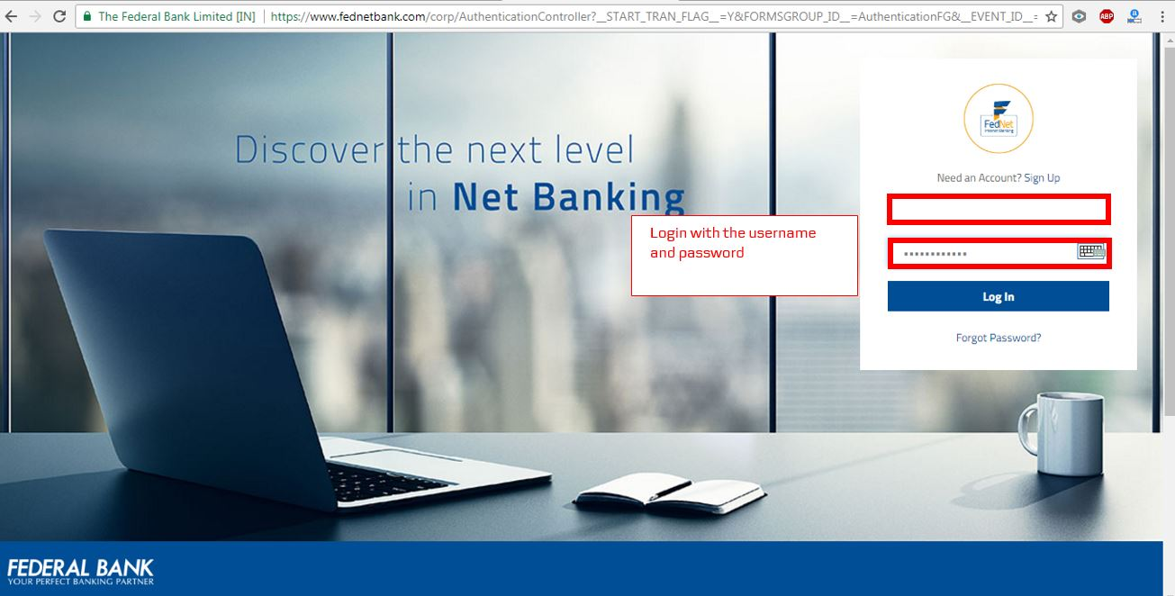 How to apply for IPO via Federal Bank NetBanking (ASBA)-02