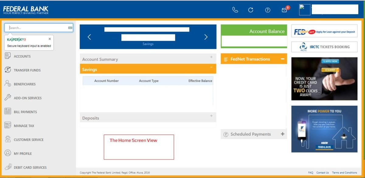 How to apply for IPO via Federal Bank NetBanking (ASBA)-03