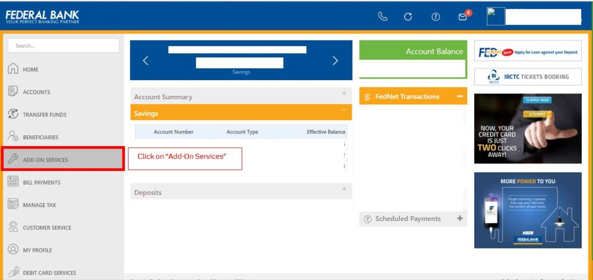 How to apply for IPO via Federal Bank NetBanking (ASBA)-04