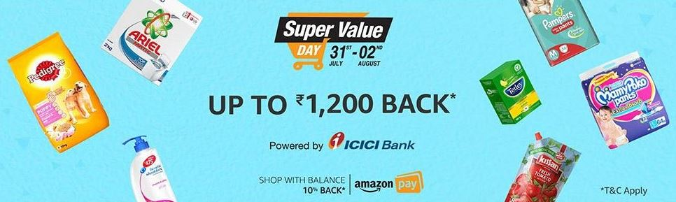 Amazon India Super Value Day- August 2017