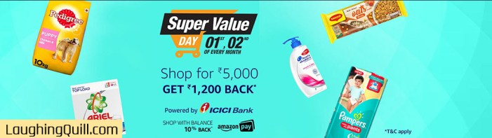 Amazon India Super Value Day October 2017