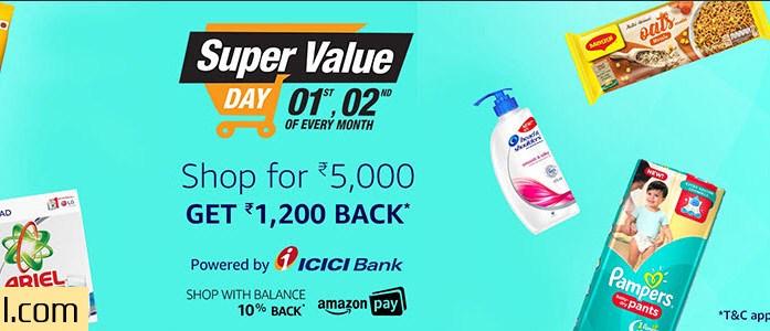 Amazon India Super Value Day October 2017